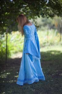 Linen Medieval Dress
