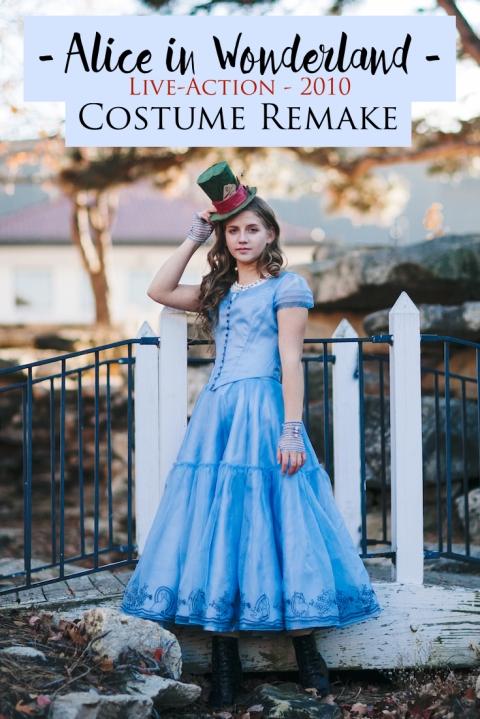 Alice in Wonderland – Live Action 2010 – Costume Remake – Bella Maes ...