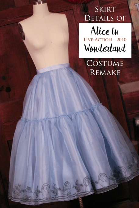 Into the Seams of Alice in Wonderland Costume Remake – Part 2 ...