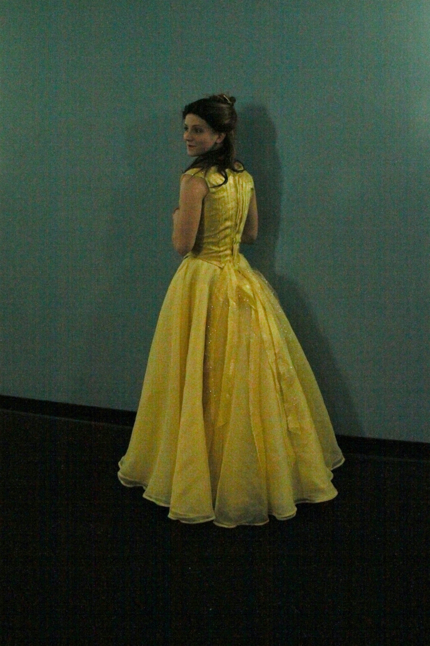 Beauty and the Beast – 2017 – Belle\'s Yellow Ballgown – Costume ...