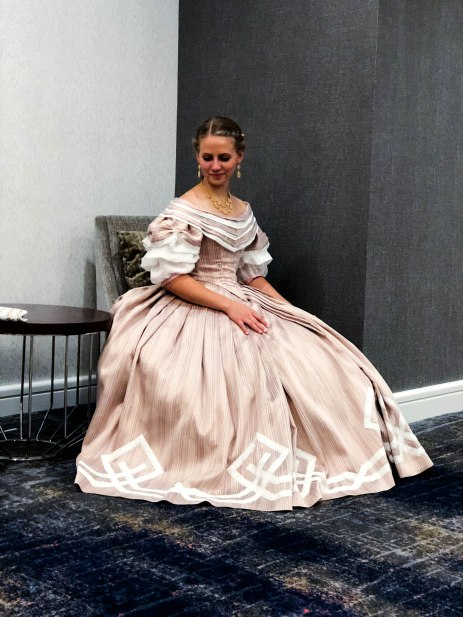 Completed Civil War Era Ballgown