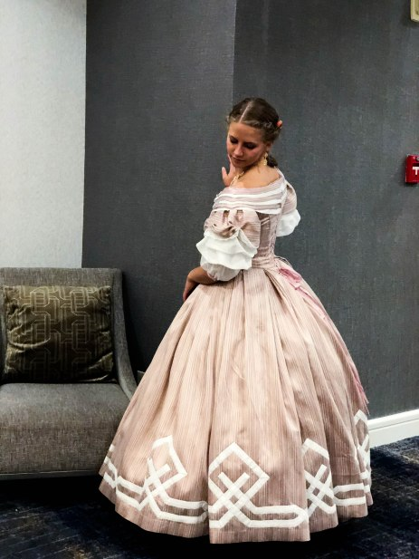 Completed Civil War Era Ballgown