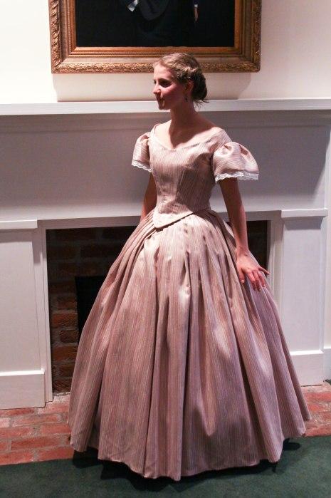 455ee28cab678 1860's Evening Attire – Civil War Era Ballgown – The Progress ...